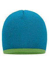 Beanie with Contrasting Border