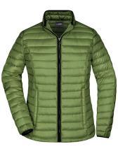 Ladies` Quilted Down Jacket