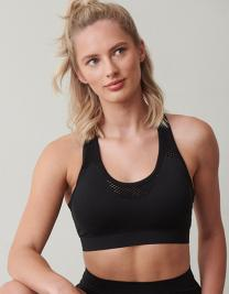 Ladies` Seamless Crop Top
